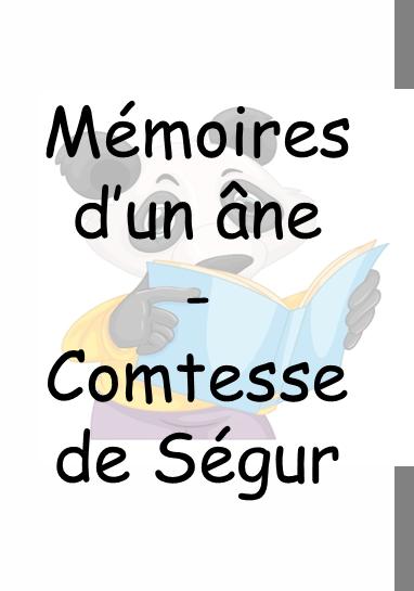You are currently viewing Mémoires d'un âne – La comtesse de Ségur