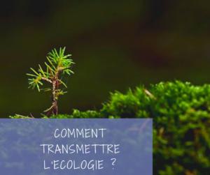 Read more about the article Comment transmettre l'écologie à nos enfants?