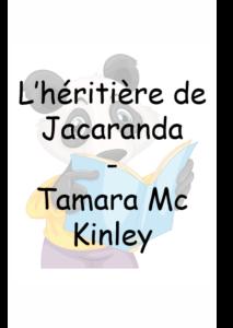 L'héritière de Jacaranda – Tamara McKinley